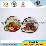 Single Side Embossed & Hot Selling Aluminium Foil Yogurt Lid