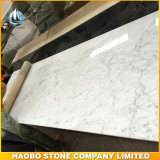 Haobo Biancoカラーラの白い大理石の浴室のカウンタートップ