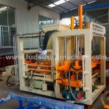 Máquina de fatura de tijolo Qt4-18 concreta automática hidráulica com certificado do Ce