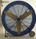 42 de Op zwaar werk berekende Wielen van de duim en de Dragende Ventilator van de Hoge Snelheid van de Ventilator van het Hoge Volume van de Ventilator van de Trommel van Handvatten voor Industrieel & Commercieel Gebruik