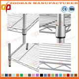Chrom-Haus-Büro-Küche-Ikea-Speicher-Draht fahrbares Fach (Zhw150)