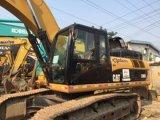Excavador usado de la oruga de la mano de /Second del excavador de la correa eslabonada de la oruga 320c (320C)