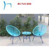 F-スタック可能藤の家具の卵の庭の籐椅子(CF777t+CF777c)