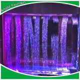 다채로운 점화 경제 실내 샘을%s 가진 디지털 물 커튼 샘
