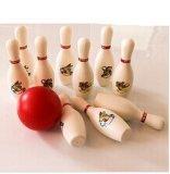 Jogo do bowling da venda quente mini, mini esfera de bowling (MH-BS004)