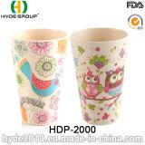 Netter Entwurfs-umweltfreundliches Bambusfaser-Cup (HDP-2000)