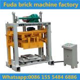 Machine de pavage de petite taille de bloc de cendres volantes de couleur de machine de brique