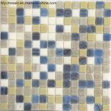 Mezclado del azulejo de cristal del vidrio del color del mosaico por un suelo de baldosas (FYSCL034)