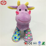 Giraffa Plush Stuffed Game Toy Purple Nice Gift per Kids