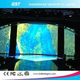 Pantalla a todo color de interior del alquiler LED de P4.8mm para los acontecimientos