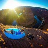 旅行屋外のキャンプの速く膨脹可能な走行のLaybag