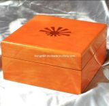 Розовое Lacquered Wooden Box для Perfume/Watch/Gift/Jewelry
