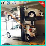 セリウムのガレージの自動車ディーラーの店2のデッキ車の駐車上昇