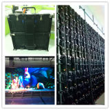 P3.91 SMD2121 Rental LED Display con Alumium Die Cast Cabinet