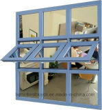 Buona qualità per la finestra di alluminio della tenda di stile di modo
