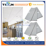 Telhas minerais acústicas de bloqueio do teto da fibra