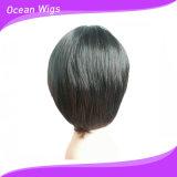 Parrucca sintetica dei capelli di colore differente