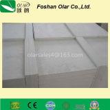 Placa de cimento reforçada com fibras sem amianto para teto / divisória