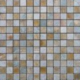 Color mixto, mosaico de piedra para la construcción de viviendas Material de pared (FYSSC138)