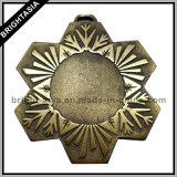 Metal su ordinazione Bronze 3D Sports Medal con Ribbon (BYH-10841)