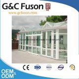 Energiesparendes europäisches Art Aluminium gebogene GlasLowes Sunrooms