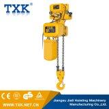 Alzamiento de cadena eléctrico de 5 toneladas con velocidad de elevación dual