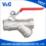 Valogin Yuhuan cinese Best Brass Ball Valve con Union Angle Fxm