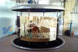 Huicheng 스테인리스 장 관 금, Rosegold, 검정, 파란 PVD 진공 코팅 장비