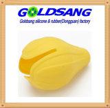 Exprimidor de la maneta del limón del silicón de las herramientas de la cocina