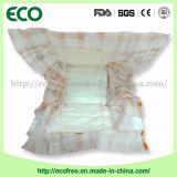 Fille de couche-culotte de bébé de balles, constructeur bon marché de bébé de couches-culottes en Chine