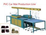 Esteira personalizada do carro do logotipo do PVC 3D que faz a máquina
