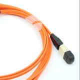 MPO-FC 다중 상태 12의 코어 광섬유 Patchcord