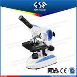 FM-179b Monocular LED Ablichtungs-Schule-Mikroskop