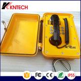 Teléfono de dial auto marina a prueba de mal tiempo del teléfono Emergency del teléfono Knsp-01t2j