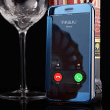 iPhone 7을%s 지능적인 자동 잠 손가락으로 튀김 덮개 케이스