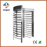 Acero inoxidable Control de acceso Lector de código de barras Full Height Turnstile