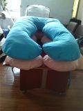 임신 베개 침대 임신 모성 안락 큰 자는 바디 아기