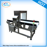 Detector de metales del transportador para la producción alimentaria