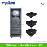 ' UPS 19 Rackmount com indicador 1-10kVA do LCD