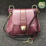 Hot Selling Latest Deisgn Female Handbag 100% Real Leather 2 Size Women Shoulder Bags Emg4963