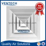 Diffuseur central de plafond de Suqare d'air de climatisation de ventilation