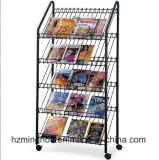 Prata Supermaket Metal Display Rack Food Display Shelf