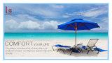 Logotipo feito sob encomenda venda ao ar livre portátil impressa do guarda-chuva de praia, guarda-chuva de Sun