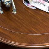 Amerikanische Art-hölzerner runder Kaffeetisch für Hauptmöbel (AS838)