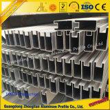 Puerta de aluminio de aluminio de Mamufacturer con el grano anodizado o de madera