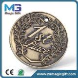 Медаль спорта горячих сбываний выдвиженческое античное бронзовое