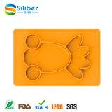 Esteira de borracha de alimentação Non-Slip do bebê animal da aprovaçã0 da série FDA