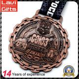 Fábrica directamente Deporte Medalla personalizada del metal para el levantamiento de pesas