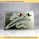 VIPのメンバーのための銀製の印刷PVC磁気ストライプのカード
