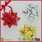 Curva plástica por atacado Handmade da fita da estrela do diodo emissor de luz da decoração